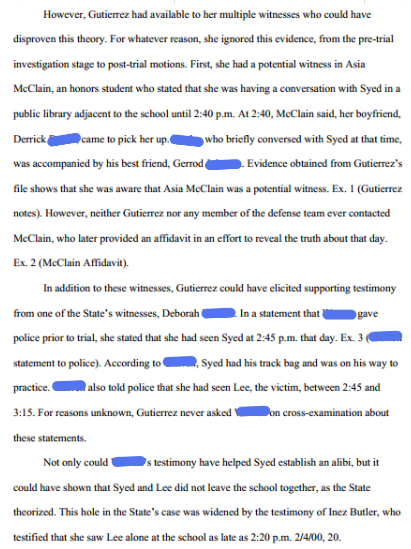 From the post-conviction appeal brief. Note the second sentence. Its important.