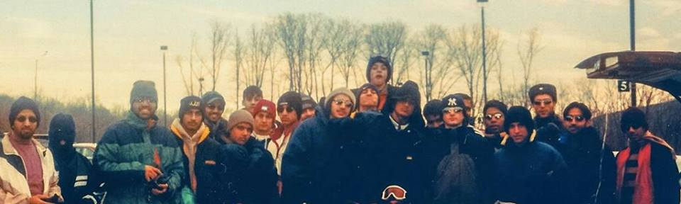 "Circa 1998 or 1999, the ""band of brothers"" from the local mosque. Dead center, and channeling the unibomber, is Saad. Adnan looks over his right shoulder. Deep throat is in the pic too."