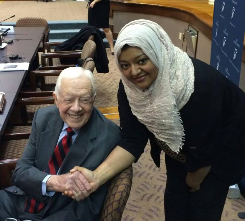 One of the greatest honors of my life to meet this incredibly humble and dedicated peace maker.