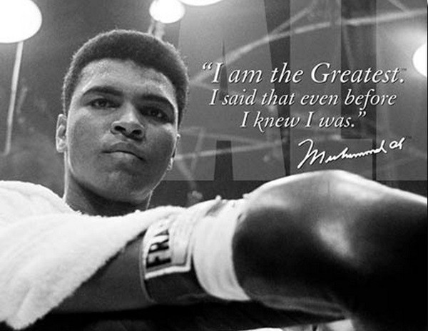 You always will be, Champ