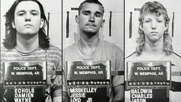 """The """"West Memphis Three"""". I once tweeted at Damien hoping to get his interest in Adnan's case.                                        He never responded. Sniff."""