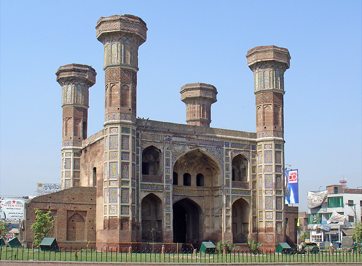 I was born in the neighborhood of this monument, Chauburgi, in the heart of old Lahore