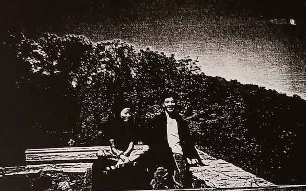 A photocopy of a picture found in Hae's belongings of her and Adnan together in Patapsco Park.